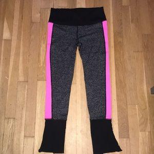 VSX Sport Hot pink and black leggings